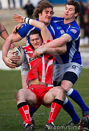 Barrow Raiders  v Leigh Centurions Editorial Image