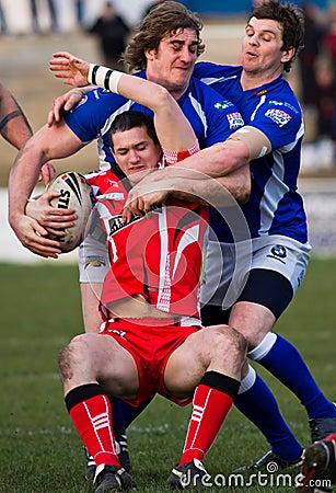Barrow Raiders  v Leigh Centurions Editorial Image