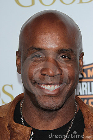 Barry Bonds Editorial Stock Image