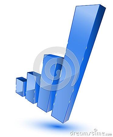 Bars graphic symbol