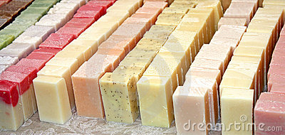Bars of Soap.