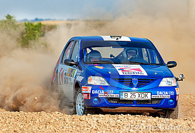 Barsa Rally 2011 Editorial Stock Image
