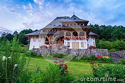 Barsana monastery complex, Maramures