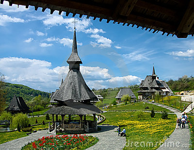 Barsana Monastery in Maramures