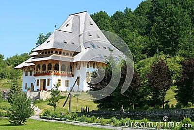 The Barsana Monastery (Maramures, Romania)