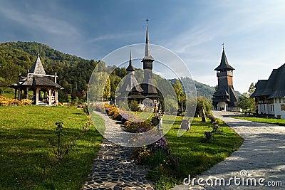Barsana Monastery Romania