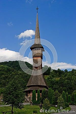Barsana monastery wooden church