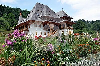 Barsana orthodoxer hölzerner Klosterkomplex