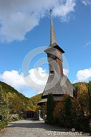 Barsana Wodden Monastery