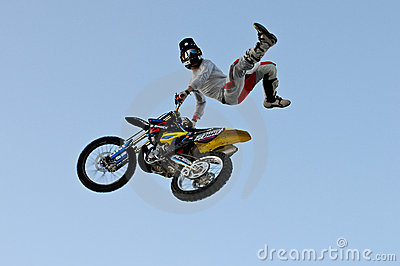 Bartek Oglaza freestyle motorcros cancan Editorial Photography