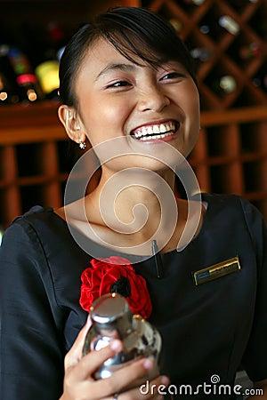 Bartenderbetjäntfavorit min uppassare