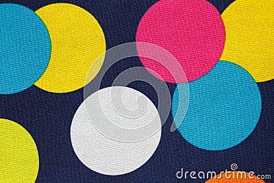 Barwione kropki