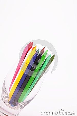 Barwioni ołówki