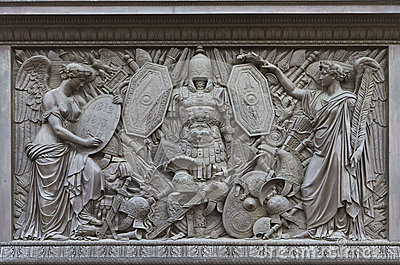 A Bas-relief on Alexander Column