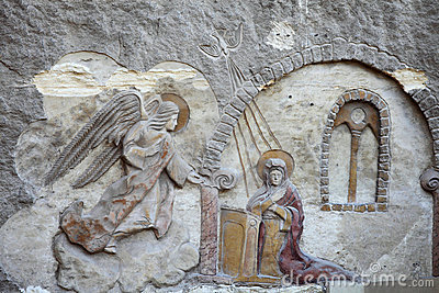 Bas relief from Coptic Church