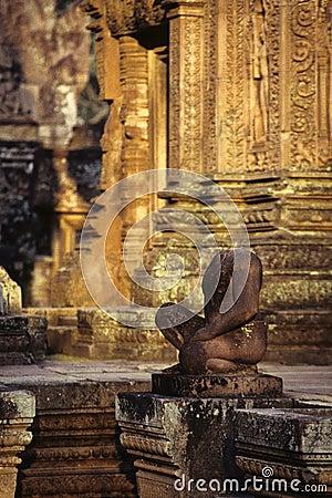 Bas-relief- near Phnom Penh, Cambodia