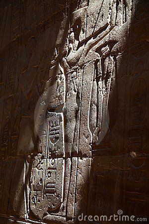 Bas-relief of pharaons
