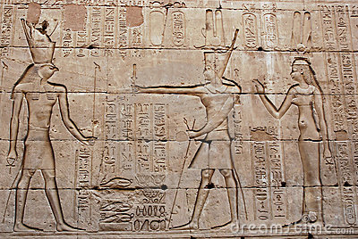 bas relief sur le mur temple d 39 edfu l 39 egypte photos. Black Bedroom Furniture Sets. Home Design Ideas