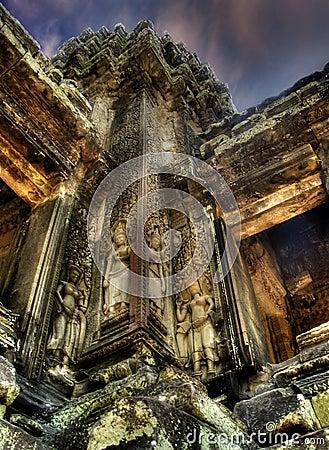 Bas-reliefs of Angkor-2