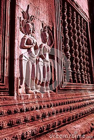 Bas-reliefs Angkor Wat