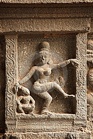 Bas reliefs in Hindu temple