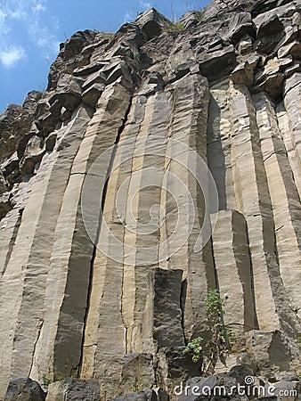 Basaltachtige kolommen