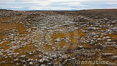 Basaltic rocks fields