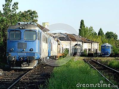 Basarab train depot