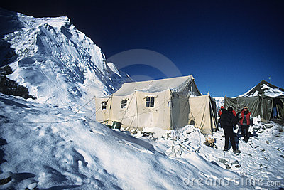 Base Camp of Khan Tengri - Tien Shan