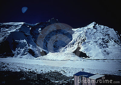Base Camp of Khan Tengri - Tien Shan