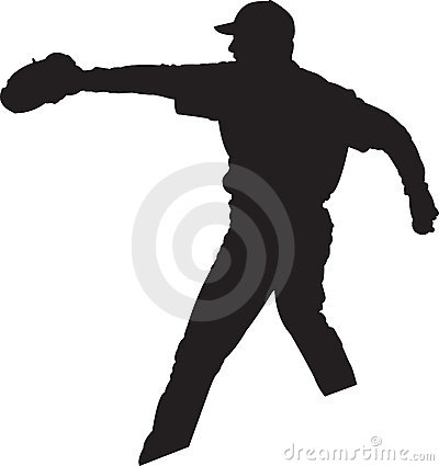 Baseball 01 miotacza gracza