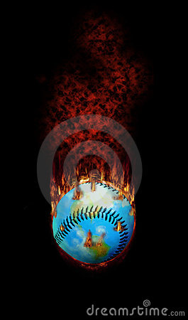 Free Baseball - A Hot Topic For The World Royalty Free Stock Photo - 10662855