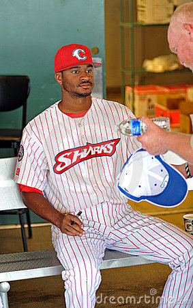 Baseball autographs Editorial Photo