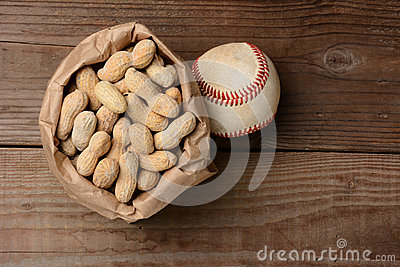 Baseball and a Bag of Peanuts