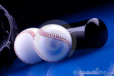 Baseball Balls and Bat