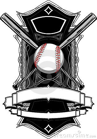 Baseball Bats, Baseball, on Ornate Graphic