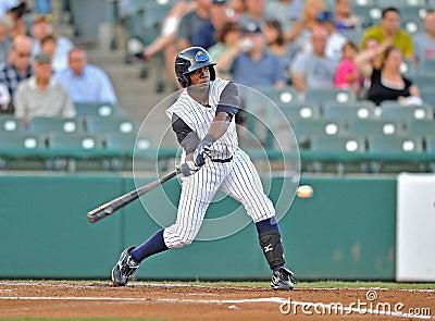 Baseball batter swing Editorial Image