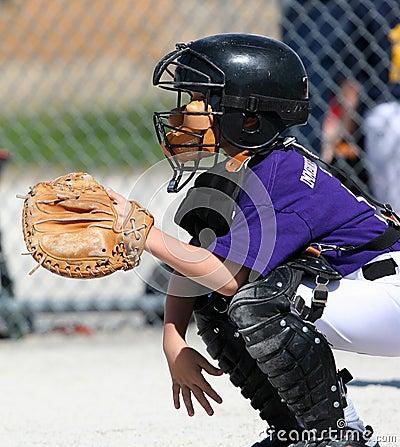 Free Baseball Catcher Stock Photography - 2083292