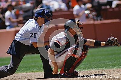 Baseball catcher Editorial Photography