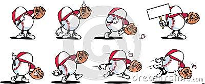 Baseball Characters