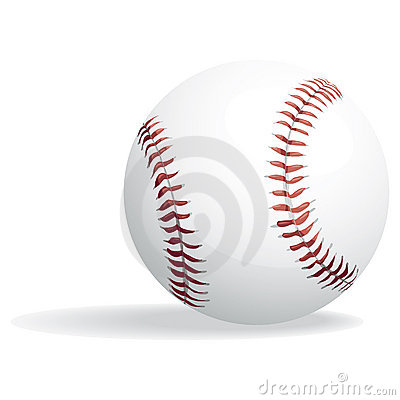 Baseball and clipping path
