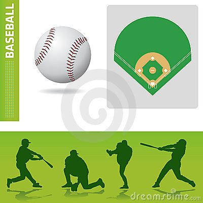 Baseball design elements