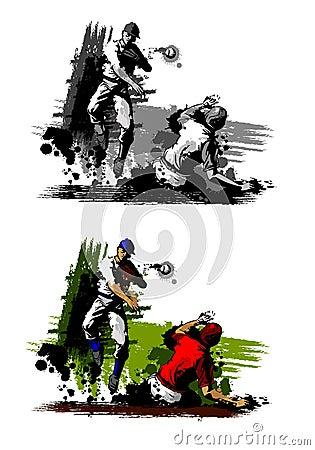 Baseball Double Play