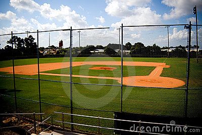 Baseball Field Empty
