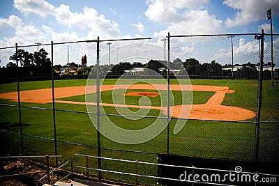 Baseball Field Empty