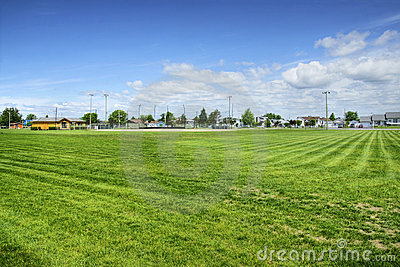 Baseball field hdr