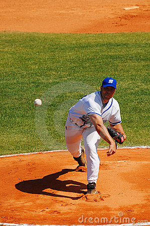 Baseball game Editorial Photo