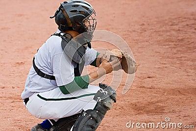 baseball game catcher