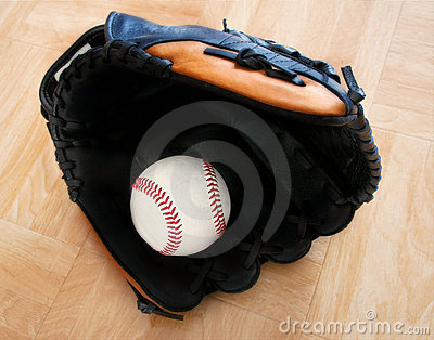 Baseball in Glove