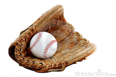 Baseball Glove And Ball Royalty Free Stock Photography - Image ...